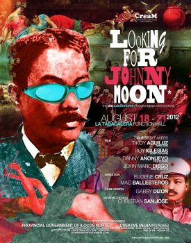 Looking for Johnny Moon Poster 2012 by creativemediaph