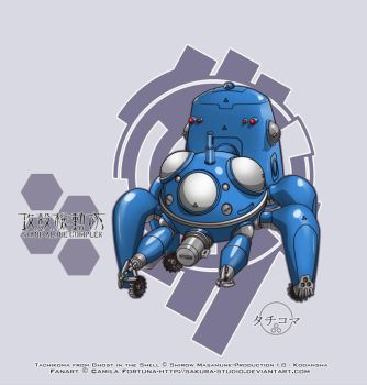 .:Tachikoma Desu:. by CamiFortuna