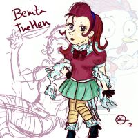 Benita The HEn -Contest by 402ShionS3