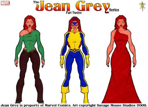 Jean Grey Series: Part Twelve by SavageMouse