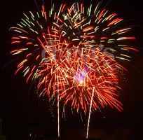 Red Green Fireworks by white-tigress-12158