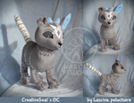 CreativeSoal's OC custom plush by Peluchiere