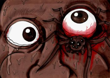 SCP-525 Eye Spiders by charcoalman