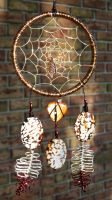 Wire Dreamcatcher by a-kid-at-heart