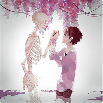 the death and the human by K0ii