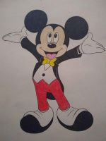 Mickey Mouse by do-not-take-my-name