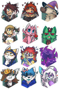 September 2017 Support Portraits by ClefdeSoll