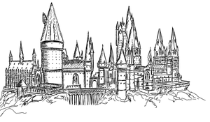 Hogwarts by HeineD