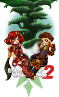 XBC 2: Pyra and Rex by Ariall