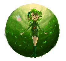 Guardian Saria by tunetherainbow