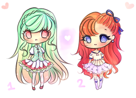 Chibi Adopts 3 (SOLD) by mochatchi