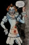 pennywise the dancing clown by Sipr0na