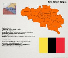 SW: Map of Belgica by ThanyTony