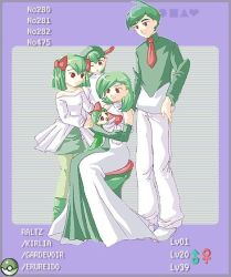 PKM - Ralts Family by rm-tosca