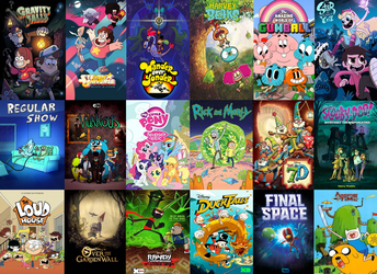 The Best Animated TV Shows Of The 2010's by Evanh123