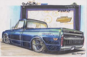 Chevy_pick-up.2nd 69 by HorcikDesigns