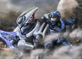 Halo Reach Fan Art by Geocross