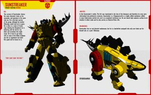 'DINO AGE' SUNSTREAKER by F-for-feasant-design