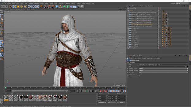 Assassin's Creed Unity Altair's Outfit by TSelman61