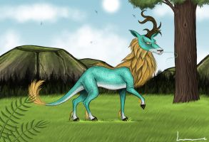 Qilin by Louisetheanimator