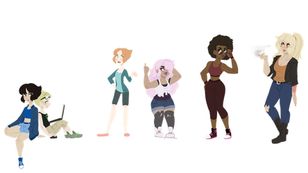 Steven Universe Human Au by Decapitated-Kittens