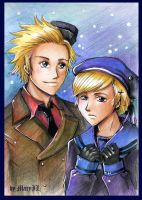APH Den and Nor by MaryIL
