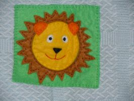 Lion by VickitoriaEmbroidery