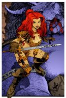 Red Sonja 9 by DrDoom1081