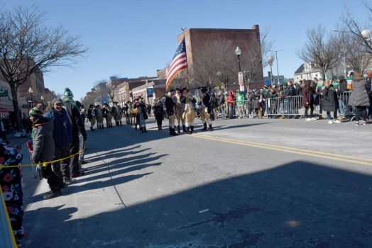 St. Patrick's Day Parade, Colonial Soldiers 2 by Miss-Tbones