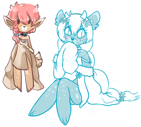 New OC Doodle - Currently unnamed by CherrelAnn