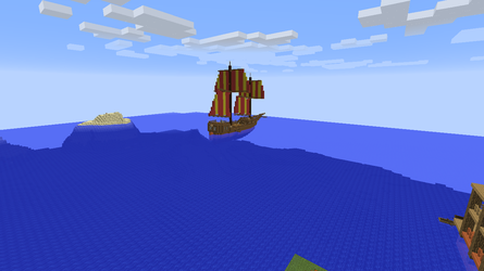 Dutch top sail caravel style ship 2 by ColtCoyote