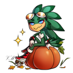 Pumpkin Flavored Jet Pagedoll by V-Mordecai
