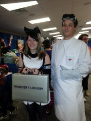 Doctor Horrible and another cosplay at SCEE 2014 by xayoz77
