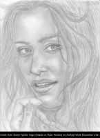 Piper Perabo drawing by AndRay-BF