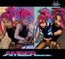 AMBER TEASERs by JoeyVazquez