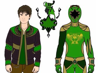 UPDATED! Joshua Ricci-Ancient Age Green Ranger by Eddmspy