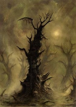 deathtree by Acrylicdreams