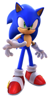 Sonic The Hedgehog 2006 Pose Render by TBSF-YT