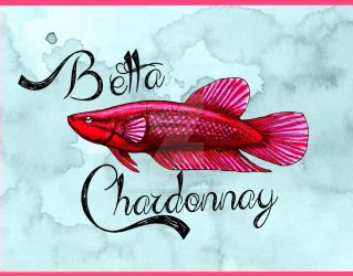 Betta Chardonnay 2 by TheLaughingVixen