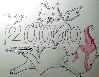 2000 views by Yami-Yoru
