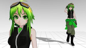 Love is War Gumi MMD download by Reon046