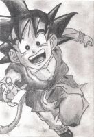 Dragon Ball - Son Goku by mypi