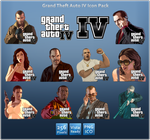 GTAIV Icon Pack by Th3-ProphetMan