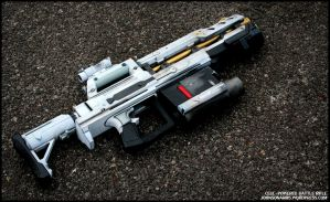 Cell-Powered Heavy Blaster Finished by JohnsonArmsProps