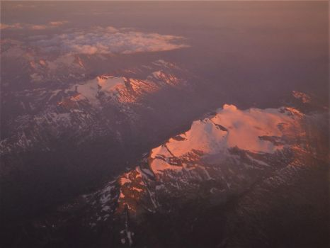 The Rockies at Dusk by northernfly