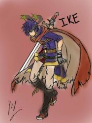 Ike (2011) by StrixArt