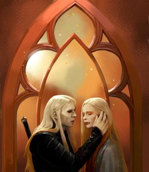 Nuada and Nuala by AzumiLee