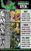 Commission prices 2017 by GalooGameLady
