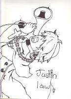 Justin Law ( Soul Eater) by taytay128