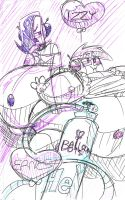 Balloon Bots - Ernest and Izzy by BalloonBot3000
